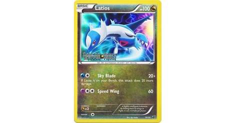 POKEMON DRAGON VAULT LATIOS 10//20 HOLO