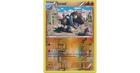 Furious Fists 61//111 Tyrunt Reverse Holo Pokemon Card