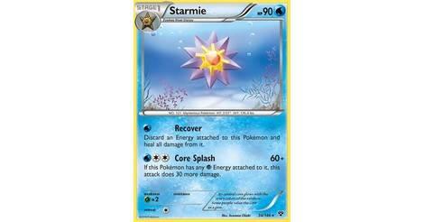 Starmie 34//146 Rare Pokemon Card