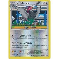 UNFEZANT 80//108 POKEMON XY ROARING SKIES CARD