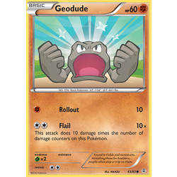 Geodude 43//83 20th ANNIVERSARY POKEMON CARD TOYS R US EXCLUSIVE