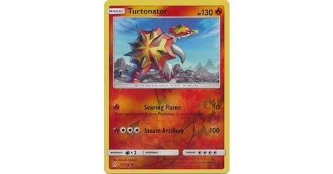 27//156 Turtonator Sun /& Moon Ultra Prism