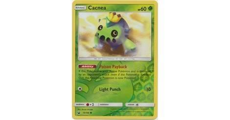 Reverse Holo Cacnea Pokemon SM Celestial Storm Card 19//168