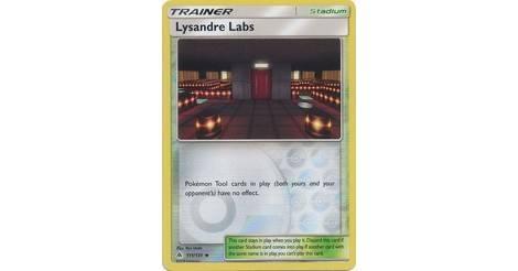 Pokemon Lysandre Labs 111//131 Forbidden Light