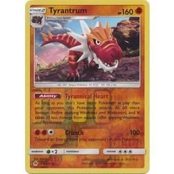 Tyrunt Reverse Forbidden Light Pokemon Card 68 131