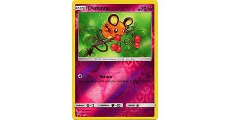 Pokemon 145//236 Dedenne-association of like-minded-Reverse Holo