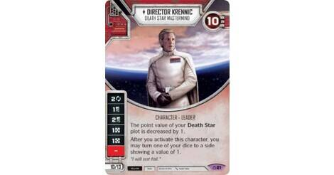 #21 DIRECTOR KRENNIC Star Wars Destiny Covert Missions Legendary Card /& Die NEW