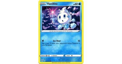 Pokemon Card Darkness Ablaze 45//189 045//189 Vanillite Reverse Holo Common