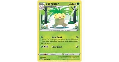Pokemon Vivid Voltage Exeggutor 5//185 Rare
