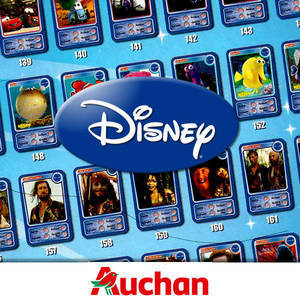 Cartes Disney Auchan (2010)