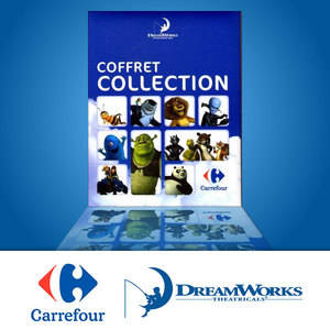 Cartes Carrefour Dreamworks (2010)