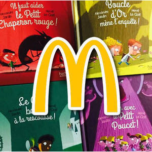Collection Livres McDonald's