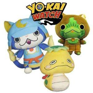 Yo-kai Watch Plushes