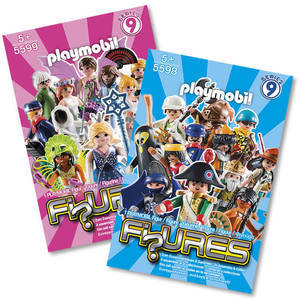 Playmobil Figures: Series 9