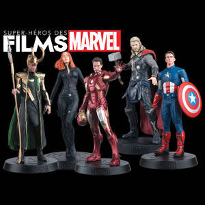 Figurines des films Marvel