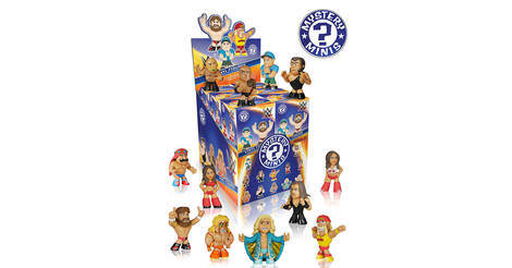 Mystery Minis Wwe Series 1 S Action Figures Checklist
