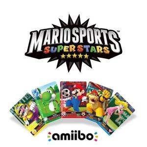 Cartes Mario Sports Superstars - Amiibo