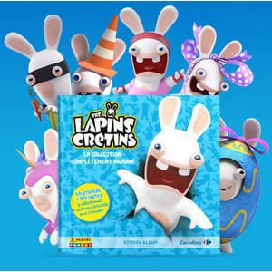 The Lapins Crétins Carrefour