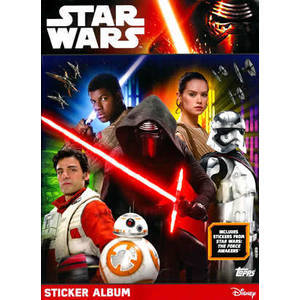 Stickers Star Wars Le réveil de la force Topp