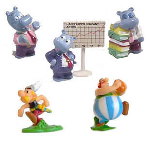 Figurines monobloc