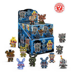 Mystery Minis Five Nights At Freddy's - Série 3 (The Twisted Ones)