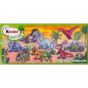 Kinder Nature - Dinosaures - 2010