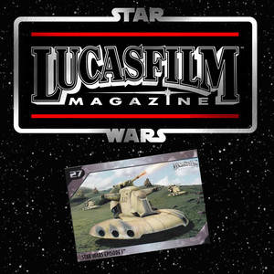 LUCASFILM Magazine Cartes exclusives