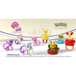 Happy Meal - My Little Pony 2014