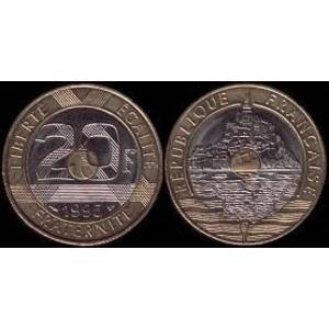 20 francs Mont Saint Michel
