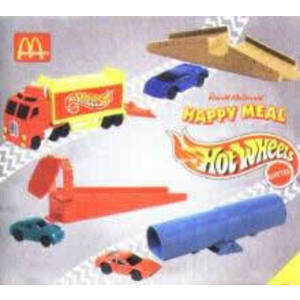 Happy Meal - Hot Wheels 1998