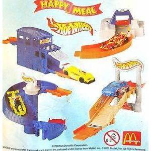 Happy meal - Hot Wheels 2002