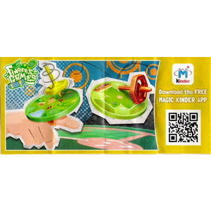 Kinder Joy - Finger Games - Toupies - 2015