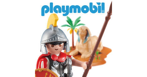 Roman,New Playmobil Roman Ref 6491 Warrior Roman Legionnaire with Shield