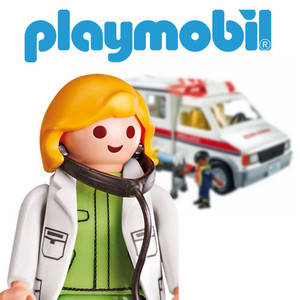 Playmobil Rescuers & Hospital
