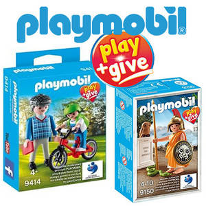 Playmobil Exclusifs : Play + Give
