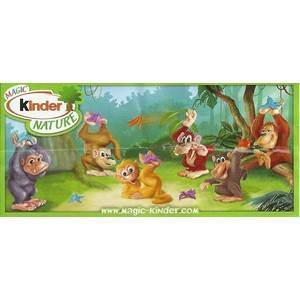 Kinder Nature - Singes - 2010