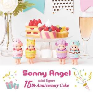 Sonny Angel 15th Anniversary Cake Series (2019)